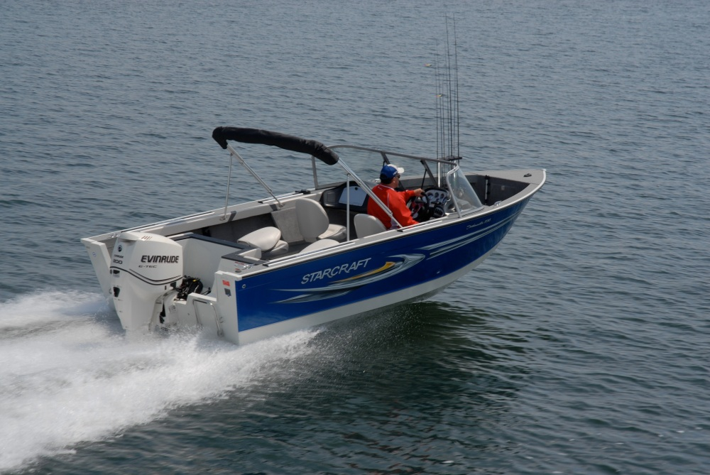 "The 196 Fishmaster is about as close to ""perfect"" as the author has seen in fishing boats. Deep, wide, super sea worthy and with a fisherman friendly interior, the Fishmaster is just that."